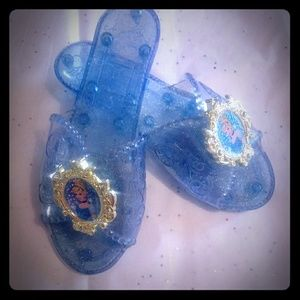 Cinderella dress up shoes